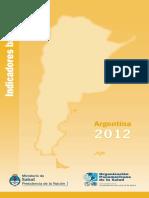 Indicadores Salud 2012