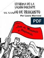 Laura Marrone - El Lecho de Procusto