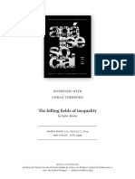 The killing fields of inequality by Sofia Aboim