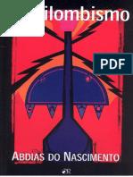 O Quilombismo - Abdias Do Nascimento