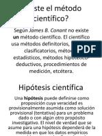 HIPOTESIS CIENTIFICA