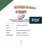 Derecho Comercial Luis Gerardo Cortez Campos