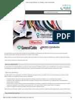 Tipos de Cables Eléctricos_ Uso, Medidas, Colores y Aislamientos