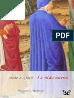 La Vida Nueva - Dante Alighieri
