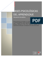 Bases psicologicas del aprendizaje
