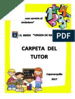 Carpeta Del Tutor 2017