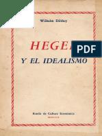 Hegel y el idealismo - Dilthey.pdf