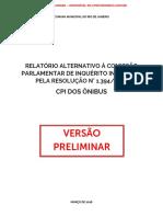 CPI Dos Ônibus (Relatório Alternativo)