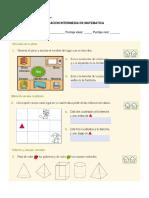 Evaluación Intermedia de Cuerpos Geométricos