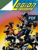 DC Heroes 2995 the Legion of Super-Heroes Sourcebook