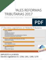 Principales Reformas Tributarias 2017