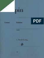 Chopin - 27 Etudes -Urtext.pdf