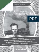 Actividades Del Tren Desaparecido