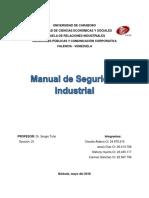 Manual de Seguridad Industrial - Word - Relaciones Publicas