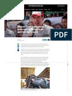 23-06-18 Miguel Castro propone inversión millonaria en gestión de basura