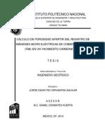 Cálculo de Porosidad Apartir Del Registro de Imágenes Micro Eléctricas de Cobertura Total (FMI) en Un Yacimiento Carbonatado