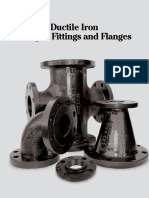 SCI Ductile Iron Flanged Fitting