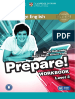 1cambridge English Prepare 3 Workbook