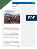 El FMI Argentina Redujo Fuertemente La Pobreza