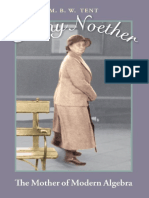 Emmy Noether. the Mother of Modern Algebra
