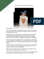 Unas Ideas y Claves Sobre Las Cartas Francesas