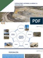 Presentación Operaciones Unitarias - La Arena s.A