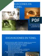 Excavación en Túnel