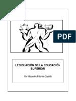 TEXTO PARALELO LEGISLACIÓN