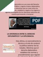 El Derecho Diplomático