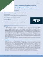 A Estrutura a Termo Da Taxa de Juros e Seu Impacto No Teste de Adequação de Passivo Para Seguradoras No Brasil