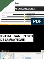 IGLESIAS DE LAMBAYEQUE