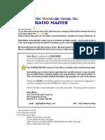 Ratio Master Ver 2.1d