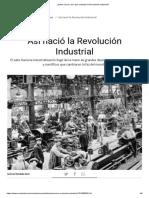 ¿Sabes Cómo y Por Qué Comenzó La Revolución Industrial