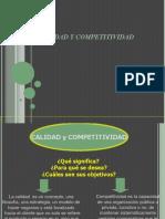 Calidad y Competitividad