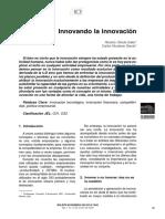 Innovando La Innovacion