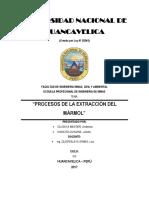 Extraccion Del Marmol