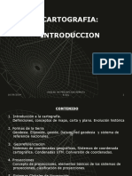 Cartografia introduccion