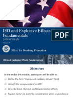 Ied Explosive Effects Fundamentals
