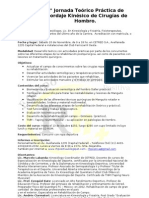 5° Jornada Teórico Práctica de Abordaje Kinésico de Cirugías de Hombro.