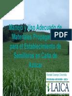 Manejo y Uso Adecuado de Material Propagativo Para Establecimiento de Semilleros