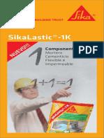 Sikalastic-1K Datasheet