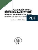 Lo Giúdice, A. (comp) - Psicoanálisis. Identidad y transmisión.pdf