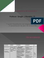 Diseño de Elementos de Maquinas II Plan de Evaluacion
