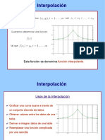 Ejemplos de Interpolaci n