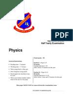 Hsc Phys Hy 2015