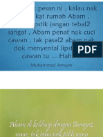 Quotes From Muhammad Amsyar