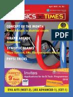 Physics Times - April 2018