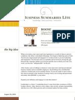 Book Summary (Lite)