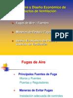 Estimacion de Fugas, Diseño de Pozos y Galerias de Ventilacion