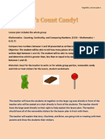 lets count candy lesson plan